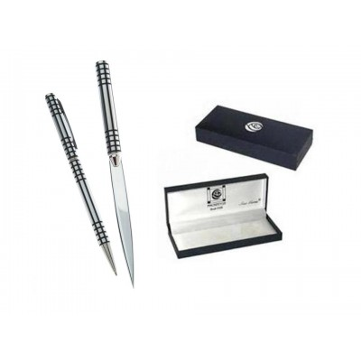 Black Lattice Design – Letter Opener Pen Set