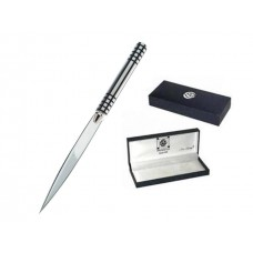 Mens Gift Boxed Letter Opener - Black Lattice Charles Rennie Mackintosh Design