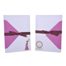 Decorative Letter Writing Paper Set - Suffragette Style