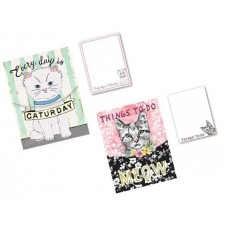 Smart Cats with Things To Do - Pocket Notepads by Punch Studio