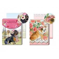Posh Dogs in Fashion - Pocket Notepads by Punch Studio