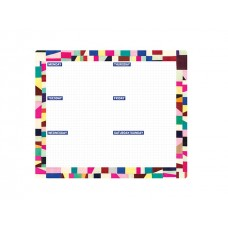 Weekly Desk Planner Pad - Bold Prints