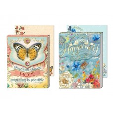 Gem Notepads by Punch Studio - Inspirational Words - Hope and Happiness