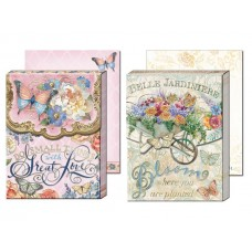 Gem Notepads by Punch Studio - Inspirational Words - Bloom and Love