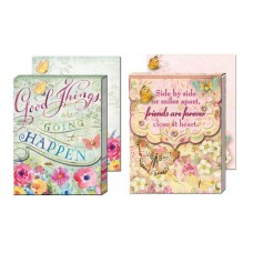Gem Notepads by Punch Studio - Inspirational Words - Good Things and Friends Forever