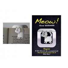 Animal Bookmark Clip Cat - Meow