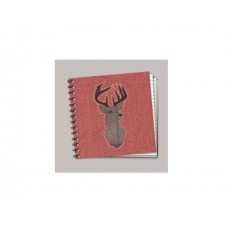 Square Project Style Notebook - Highland Stag