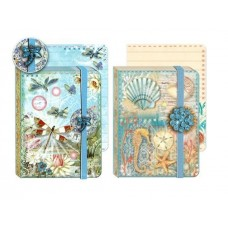 Jewel Notepads by Punch Studio - Summer Blues