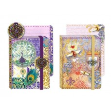 Jewel Notepads by Punch Studio - Peacocks and Bees