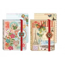 Jewel Notepads by Punch Studio - Flowers and Travel