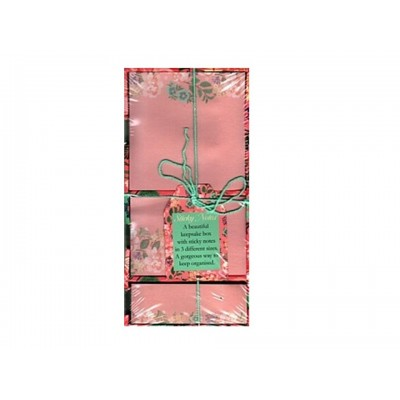 Decorative Sticky Notes - Pink Floral