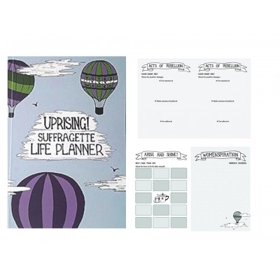 Inspiring Personal Diary and Life Planner – Suffragette Design