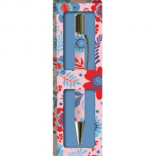 Women's Decorative Gift Boxed Pen - Beautiful Flowers design