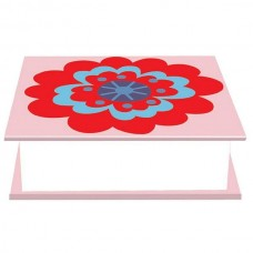 Decorative Large Memo Block Pad - Beautiful Flowers Design