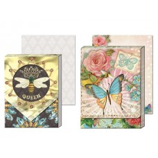 Decorative Notepads by Punch Studio - Bee and Butterfly