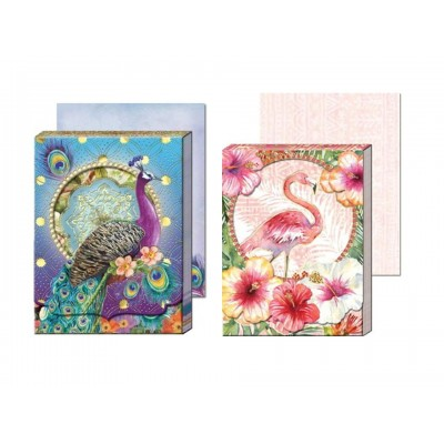 Decorative Notepads by Punch Studio - Beautiful Birds