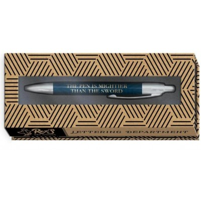 Decorative Gift Boxed Pen - The Pen is Mightier than the Sword