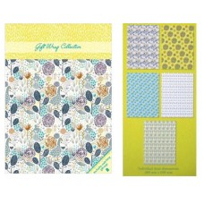 Decorative Gift Wrap Paper and Gift Tags Collection Set - Goosey Gander Design