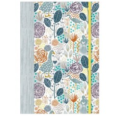 Decorative A5 Flex Bound Notebook - Goosey Gander Design