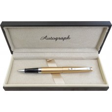 Gift Boxed Elegant Champagne Gold Decorative Pen