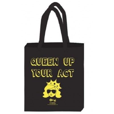 Yaasss Queen - Decorative Canvas Tote Bag - Queen Up Your Act