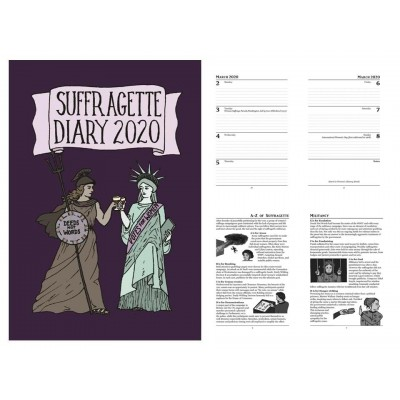 Week To View Diary 2020 – Suffragette Design