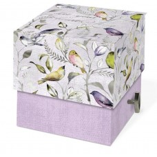 Decorative Music Box with Scented Soap by Punch Studio - Beautiful Birds Design