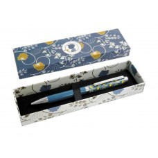 Womens Decorative Gift Boxed Pen - Jane Austen Blue design