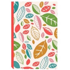 Decorative A5 Flex Bound Notebook - Beautiful Leaves Design