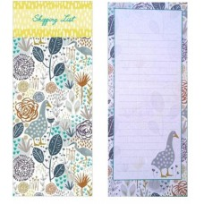 Goosey Gander - Decorative Shopping Magnetic List Pad