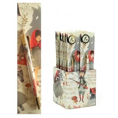 Pen and Bookmark Gift Set – Little Red Riding Hood design