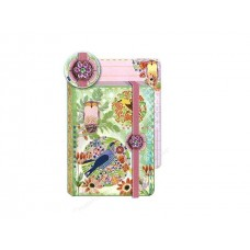 Beautiful Birds Mini Brooch Journal by Punch Studio
