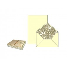 Luxury Italian Writing Paper Set - Florentine Gold