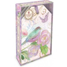 Decorative Scented Sachet - Lavender Bird Design by Punch Studio - Lavender Fragrance