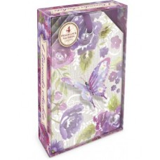 Decorative Scented Sachet - Purple Butterfly Design by Punch Studio - Lavender Fragrance