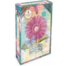 Decorative Scented Sachet - Magenta Daisy Design by Punch Studio - Jasmine Fragrance