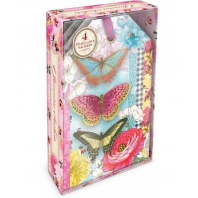 Decorative Scented Sachet - Butterfly by Punch Studio - Jasmine Fragrance