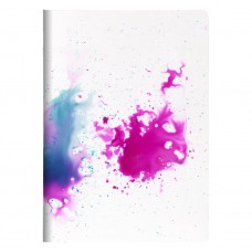 Pink Watercolours - A4 Notebook