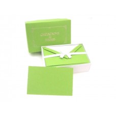 Luxury Italian Correspondence Cards - Citrus Lime