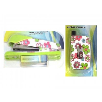 Flower Power - Hole Punch With Stapler