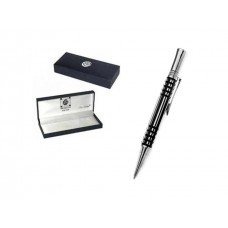 Mens Gift Boxed Deluxe Pen - Black Lattice Charles Rennie Mackintosh Design
