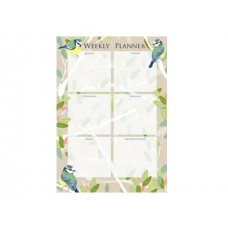 Beautiful Birds Weekly Planner Pad