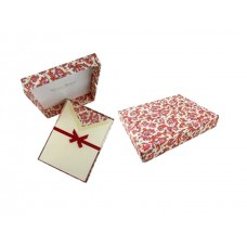 Luxury Italian Writing Paper Set - Florentine Red