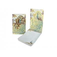 Decorative Peacock Flip Notepad by Punch Studio
