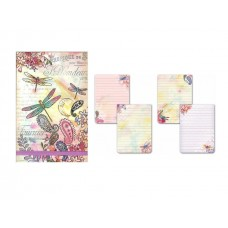 Dragonflies Flip Notepad by Punch Studio