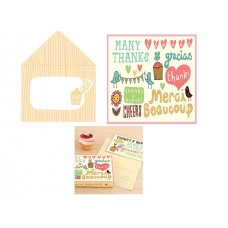 Decorative Thank You Cards - International Messages
