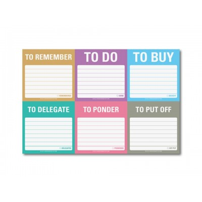 Witty Sticky Notes - To Remember, To Do and so on