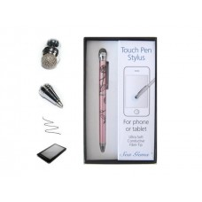Pink Rose Design - Touch Stylus Pen