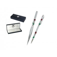Red Rose Letter Opener and Pen Set - Charles Rennie Mackintosh