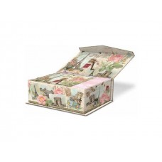 Decorative World Music Box Notecards - Punch Studio